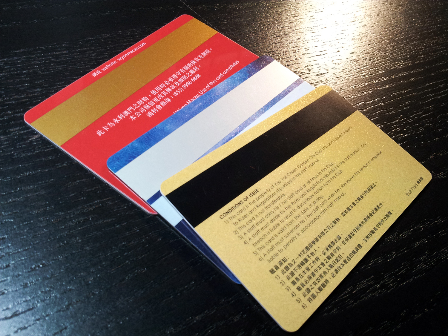 Magnetic-Stripe-card